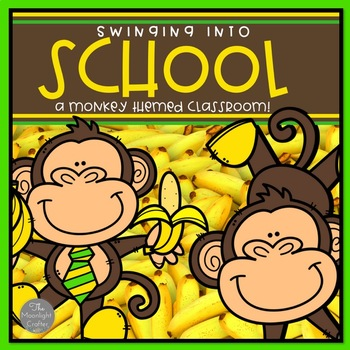 Monkey Themed Classroom Decor