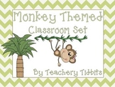 Monkey Themed Classroom Set