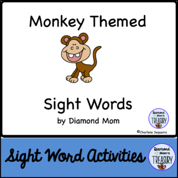 Monkey Themed Dolch Sight Words