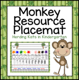 Monkey Resource Placemats
