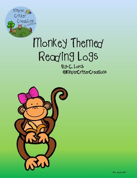 Monkey Themed Reading Log