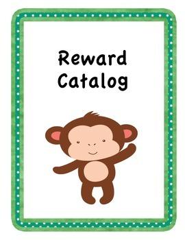 Monkey Themed Reward Catalog