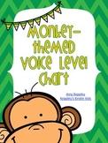 Monkey Themed Voice Level Chart