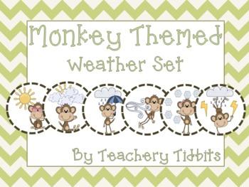 Monkey Themed Weather Set