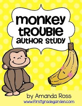 Monkey Trouble Author Study