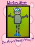Monkey Zoo Animal Fun Glyph Craftivity