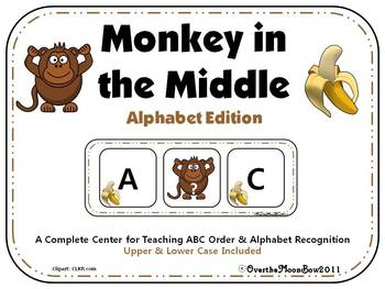 Monkey in the Middle ABC Order Center