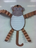 Monkey writing paper and project