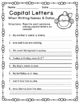 Capital Letters Game, Worksheets, Book Making Activity, An