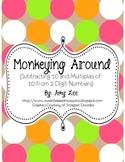 Monkeying Around (2 Digit Subtraction)