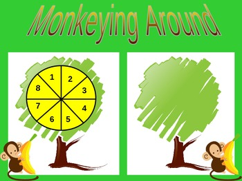 Monkeying Around - Addition by Counting On