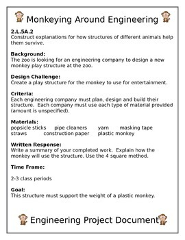 Monkeying Around Engineering