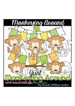 Monkeying Around Monkey Clipart