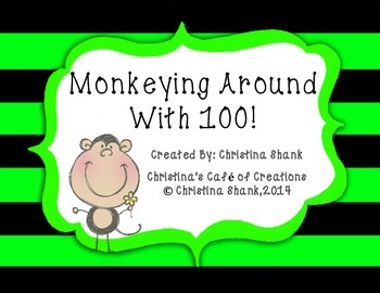 Monkeying Around With 100 on the 100th Day of School and Beyond!
