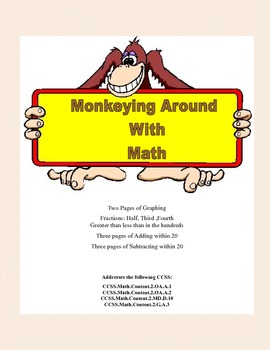 Monkeying Around With Math-A Collection Of Worksheets that