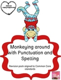 Punctuation and Spelling Revision Pack