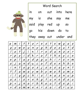 Monkeying Around with High Frequency Words