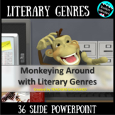 Literary Genres PowerPoint Lesson
