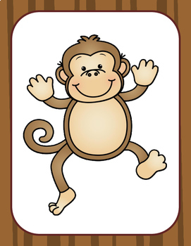 Monkey Number  Squeeze:  What Number is Missing?