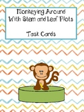 Monkeying Around with Stem and Leaf Plots (Whole, Fraction