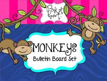 MONKEYS - Bulletin Board Set