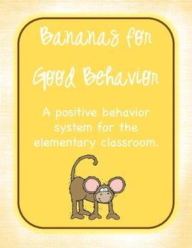 Monkeys Classroom Management - Bananas for Good Behavior