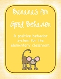 Monkeys Classroom Management - Bananas for Good Behavior