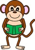 Monkeys Clip Art - 14 images for personal or commercial use