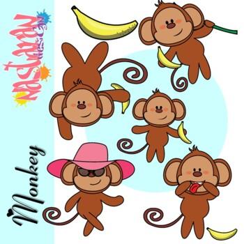 Monkeys Clipart