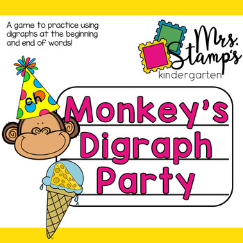 Digraphs Game:  Monkey's Party