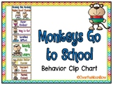Monkeys Go to School | Behavior Clip Chart