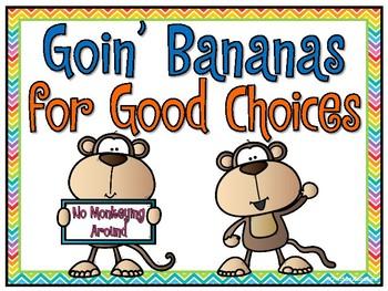 Monkeys Go to School   Behavior Clip Chart