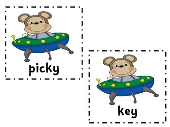 Phonics: Monkey's In Space EY and Y Literacy Activities