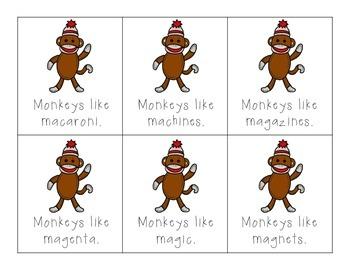 Monkeys Like... M Articulation Practice!