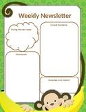 Monkeys Newsletter Template