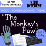"""Monkey's Paw"" - An Interactive, Engaging ELA Short Story Analysis"