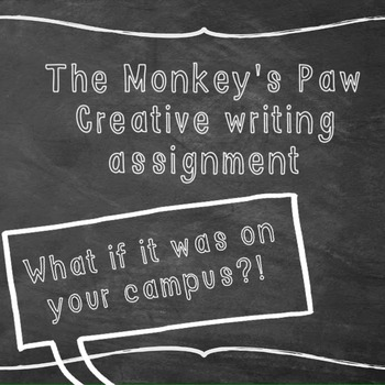 Monkey's Paw writing prompt