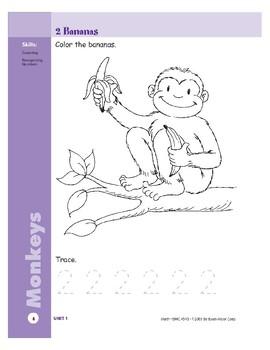 Monkeys (Skill Sharpeners Math)