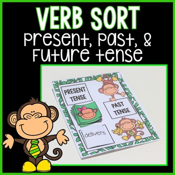 Past, Present, & Future Tense Verb Games & Anchor Charts