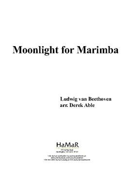 Monlight for Marimba