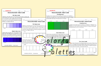 Monochromatic Worksheet