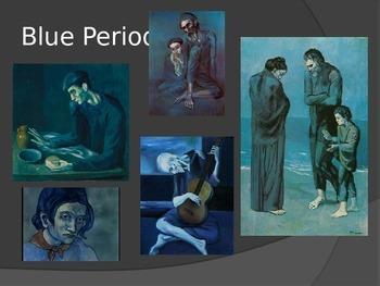 Monochromatic/Pablo Picasso Power Point