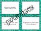 Monocots & Dicots Card Sort
