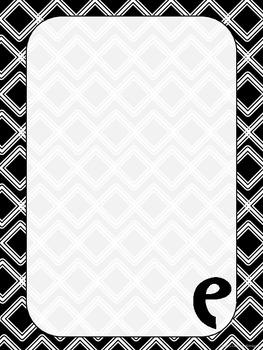 """Monogrammed """"E"""" Stationary"""