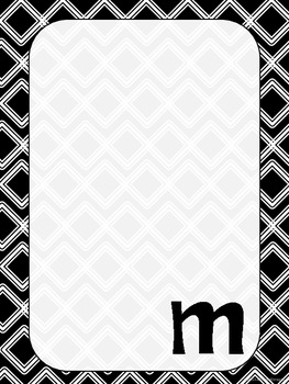 "Monogrammed ""M"" Stationary"