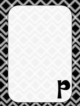 "Monogrammed ""P"" Stationary"