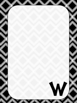 "Monogrammed ""W"" Stationary"