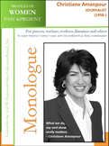 Women History - Christiane Amanpour, Journalist (1958-)