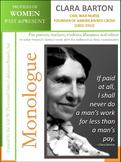 Women History - Clara Barton (1821-1912)
