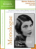 Women History - Marian Anderson (1902-1993)